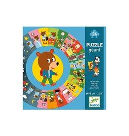 """Djeco Djeco Giant Puzzle """"The Day"""""""