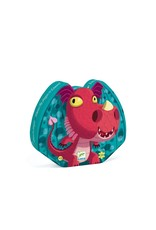 Djeco Djeco Silhouette Puzzle Edmond The Dragon