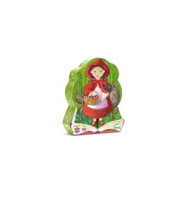 Djeco Djeco Silhouette Puzzle Little Red Riding Hood