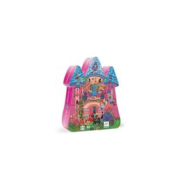 Djeco Djeco Silhouette Puzzle The Fairy Castle