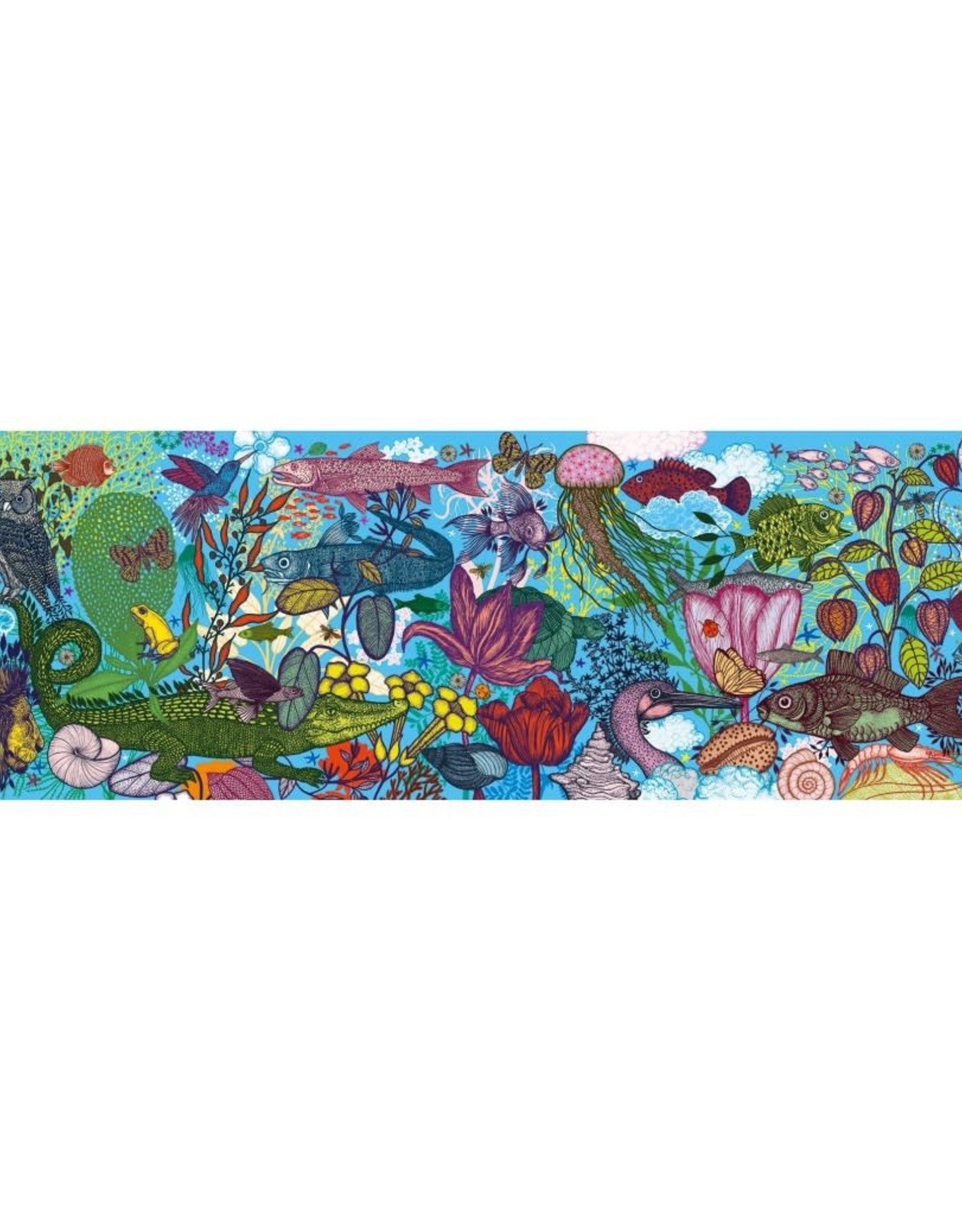 Djeco Djeco Gallery Puzzle Land And Sea