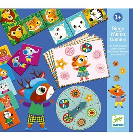 "Djeco Djeco Bingo Memo Domino ""little friends"""