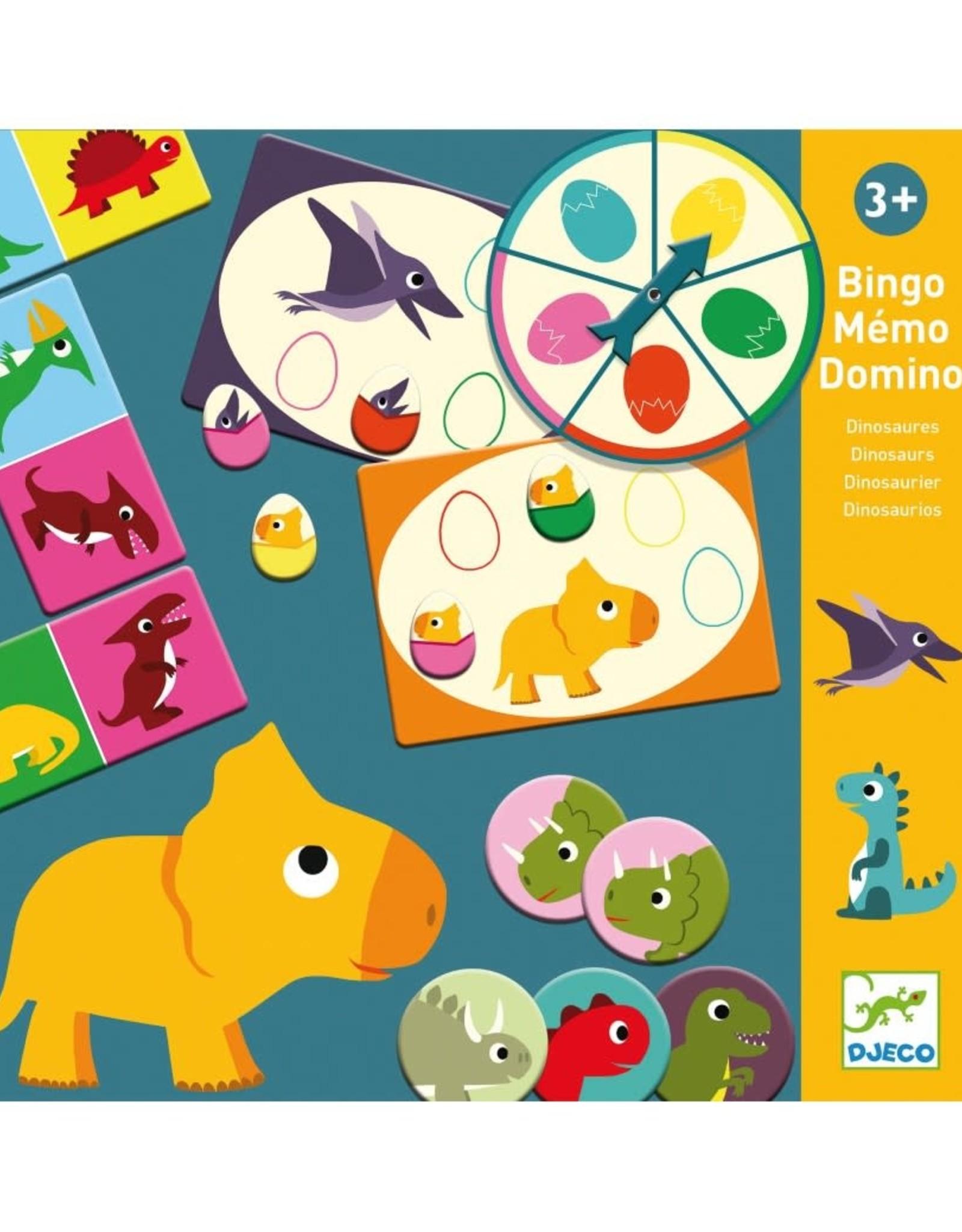 Djeco Djeco Memo Domino Dinosaurs