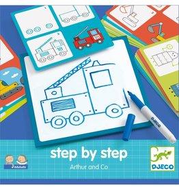 Djeco Djeco Step By Step Arthur & Co