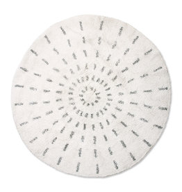 HKliving HKliving Round Bath mat Swirl 120cm