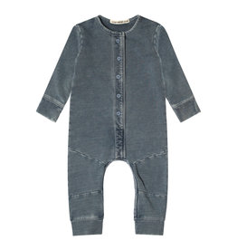 Your Wishes Your Wishes Knitted Denim Onesie