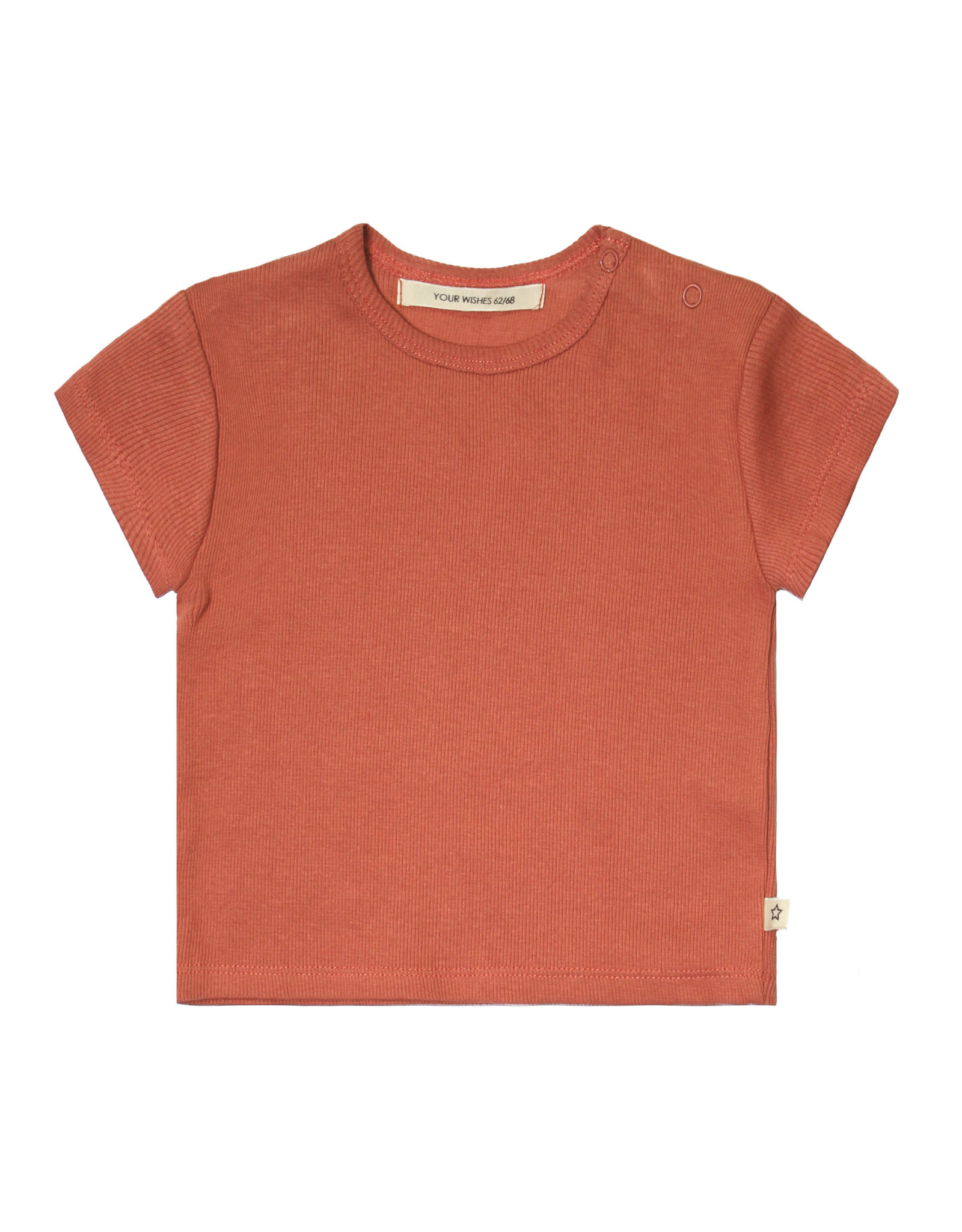 Your Wishes Your Wishes Rib Terra Loose Tee