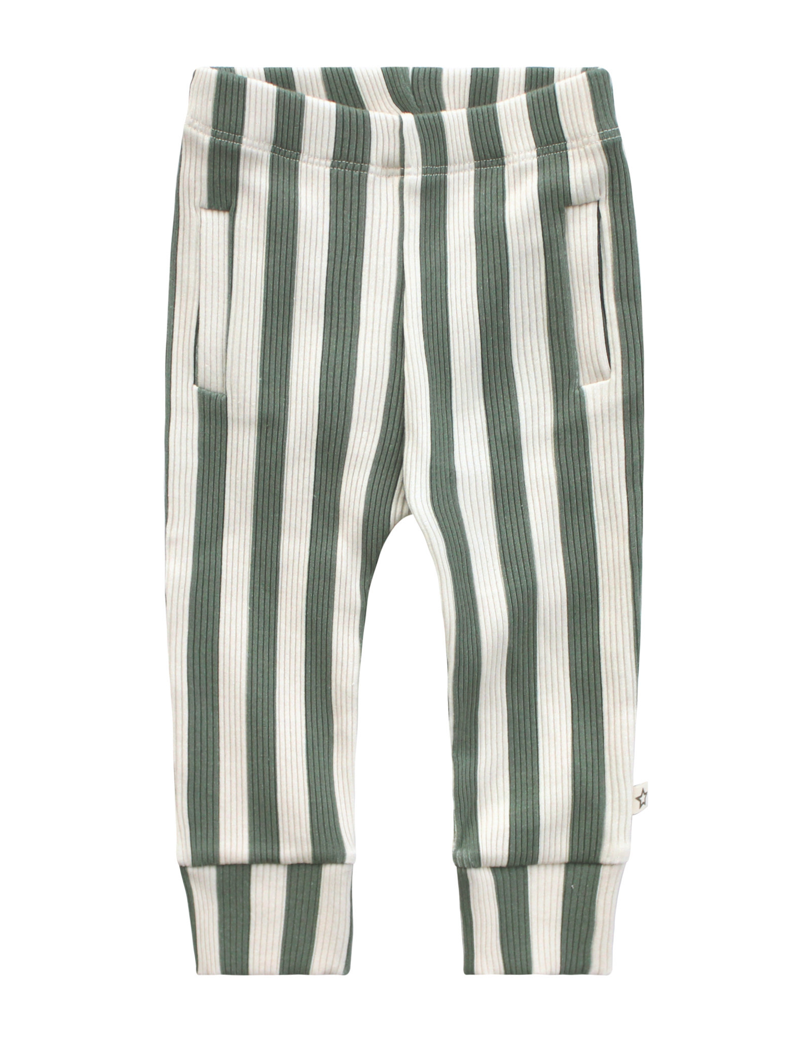 Your Wishes Your Wishes Bold stripes Fitted Pants
