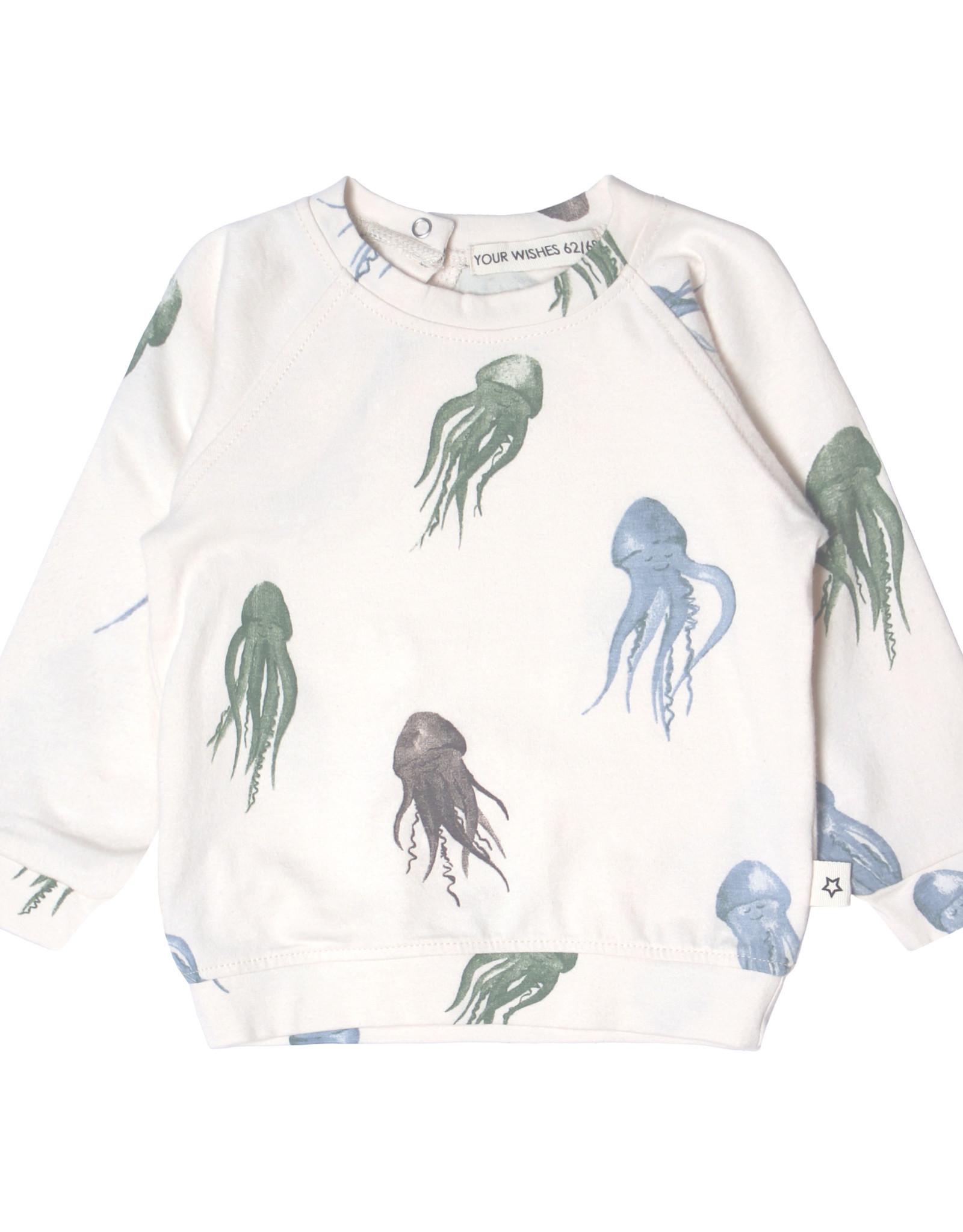 Your Wishes Your Wishes Jellyfish Sweatshirt