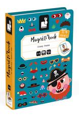 Janod Janod Magneti'book Gekke Gezichten (jongens)