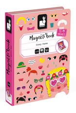 Janod Janod Magneti'book Gekke Gezichten (meisjes)