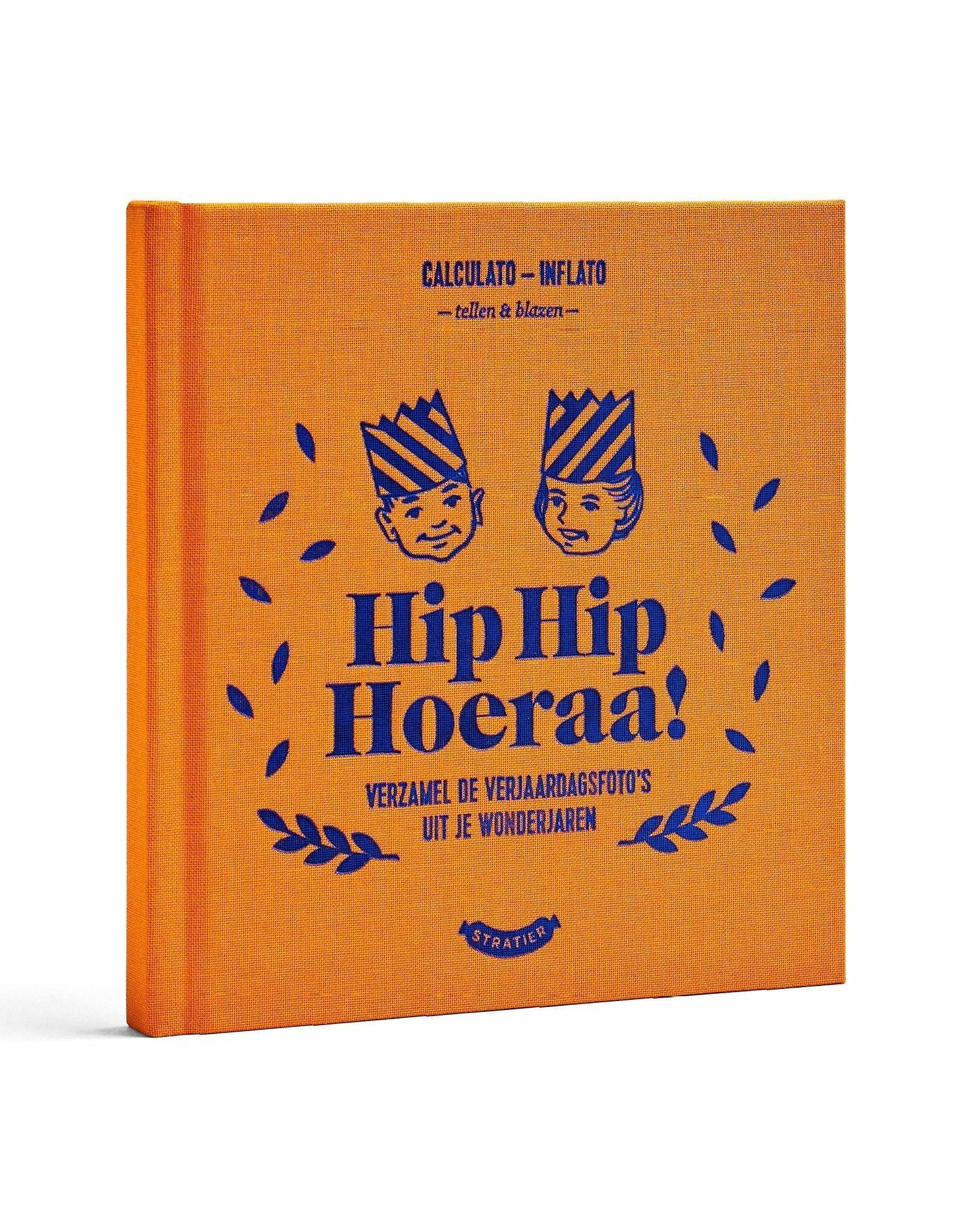 Stratier Stratier Hip Hip Hoera boekje