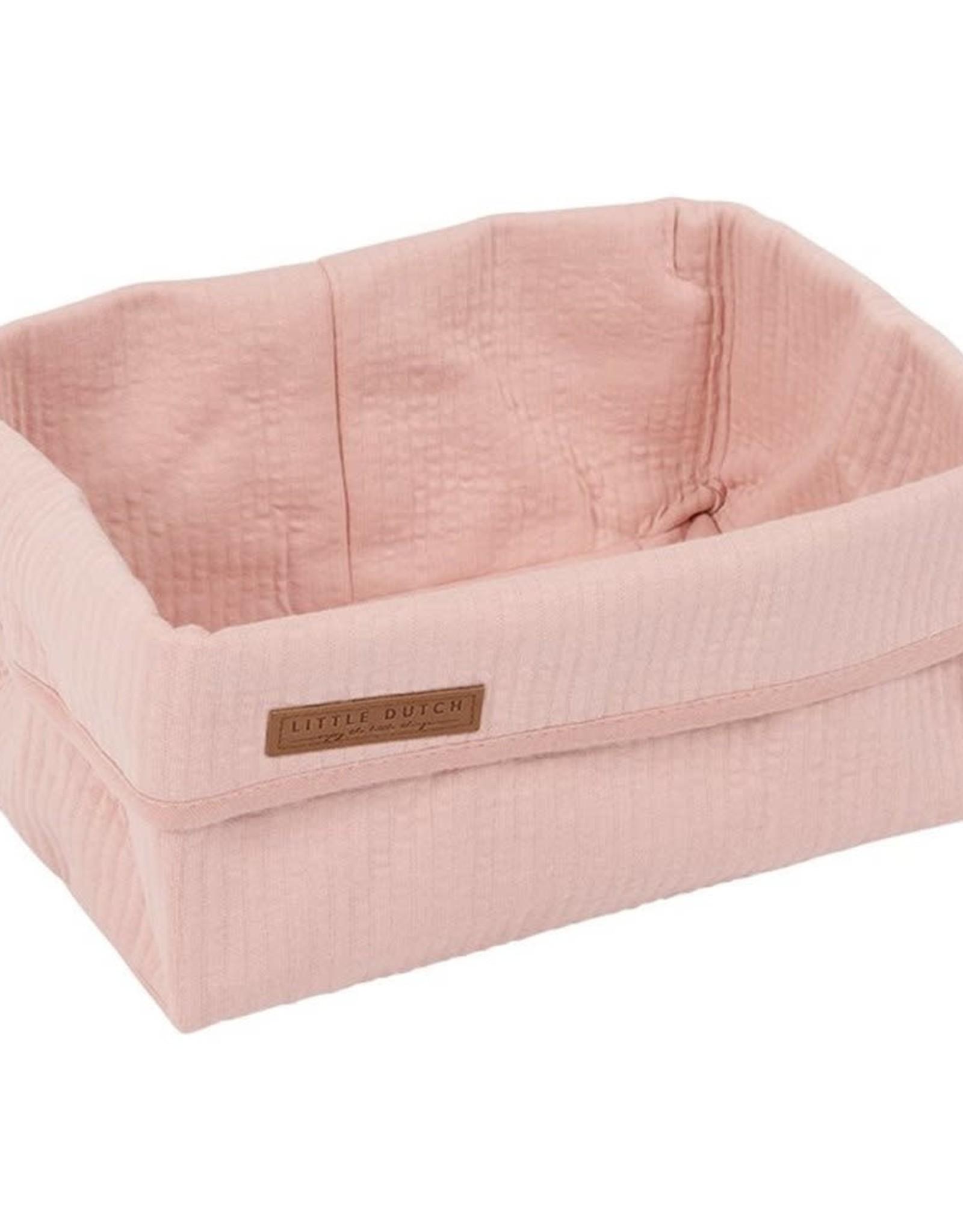 Little Dutch Little Dutch commode mandje groot pink