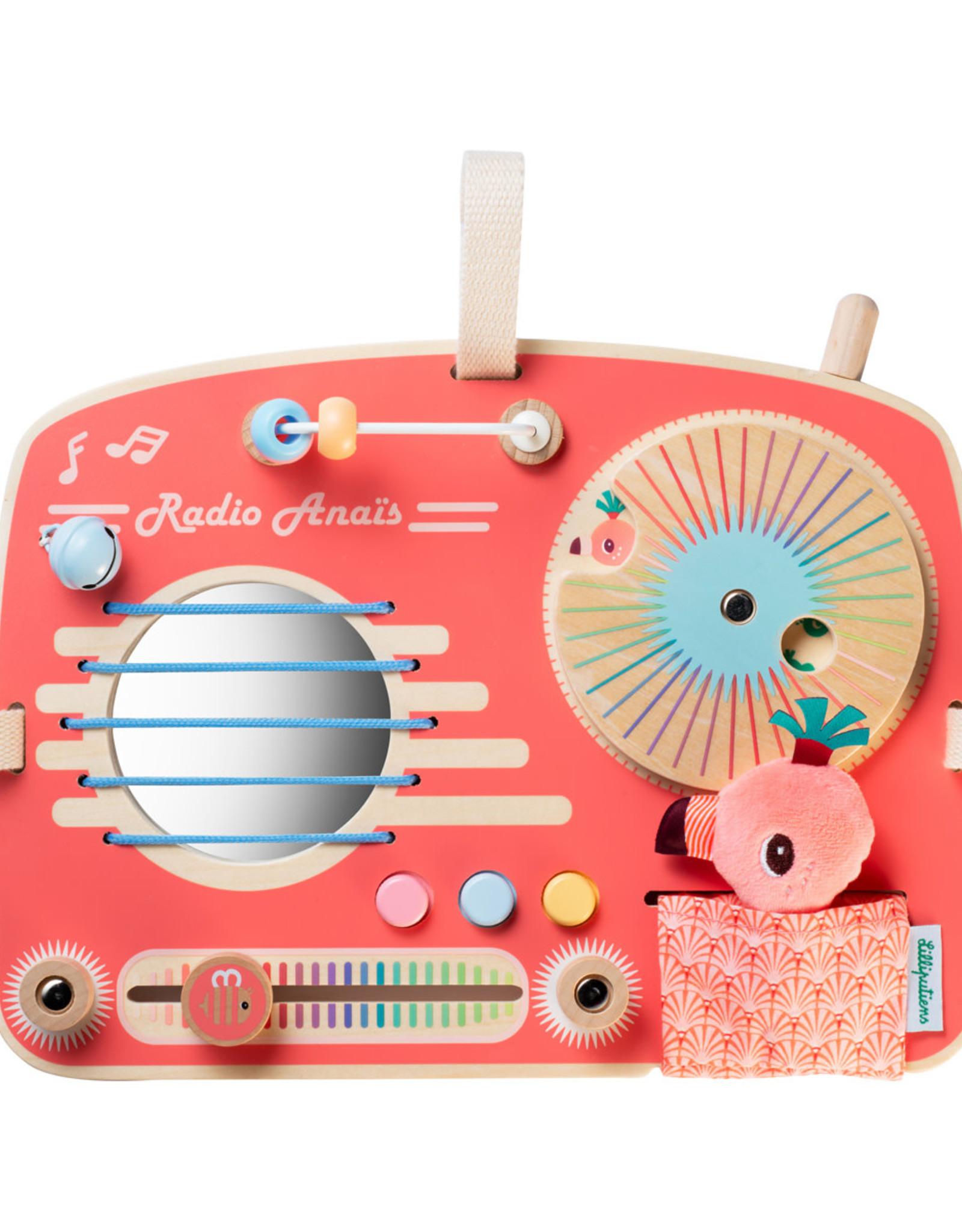 Lilliputiens Lilliputiens Activiteitenpaneel Radio