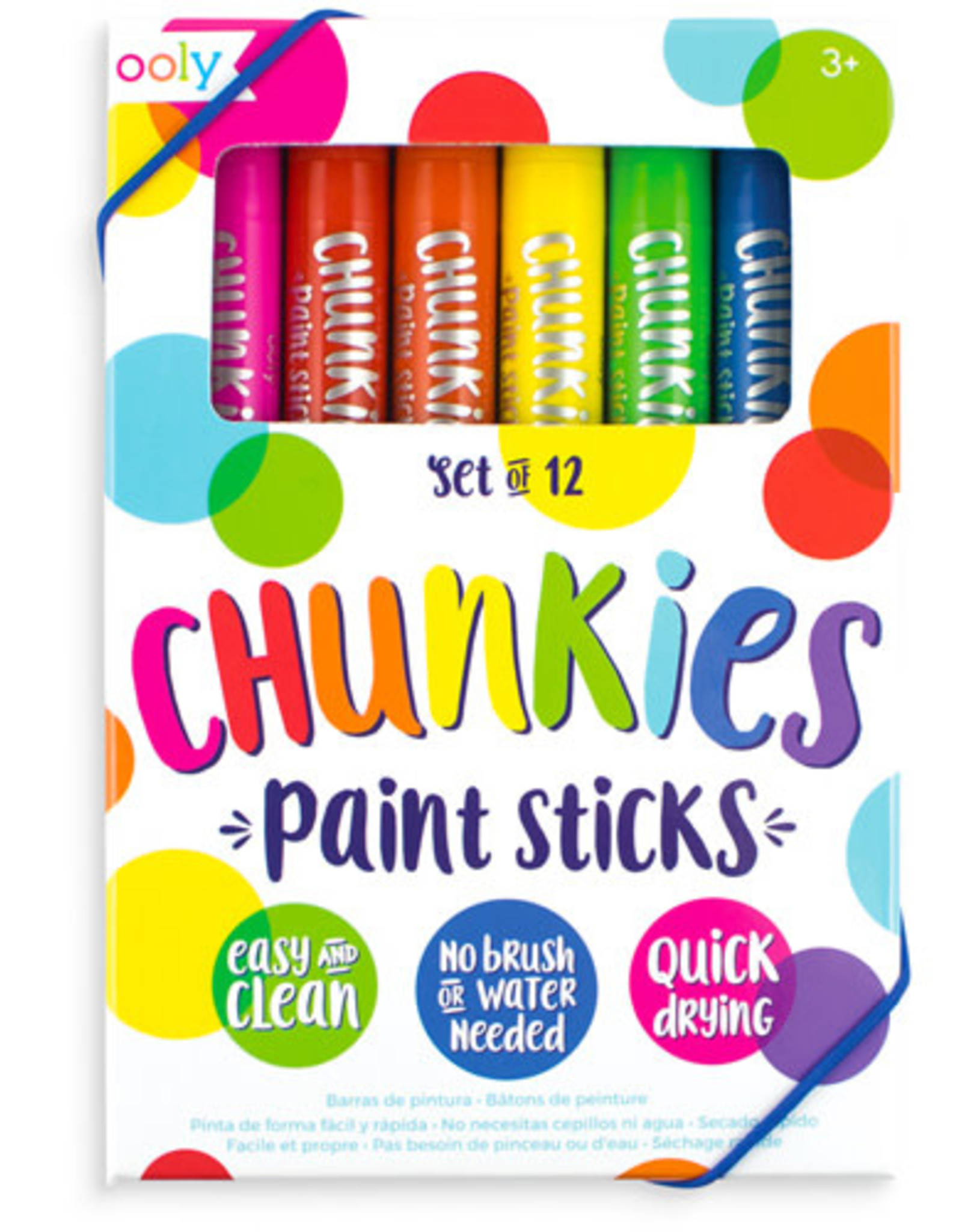 Ooly Ooly Verfstiften Chunky Paint Sticks
