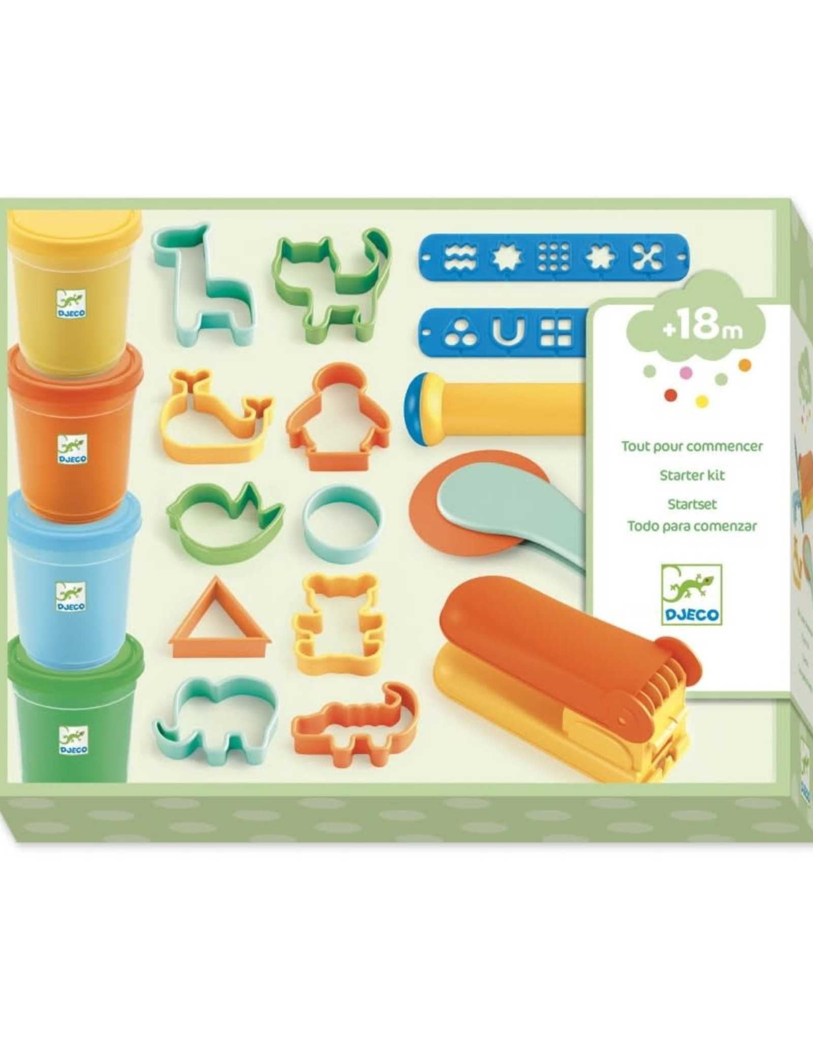 Djeco Djeco Klei Starter Kit Pop