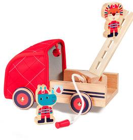 Lilliputiens Lilliputiens brandweerwagen