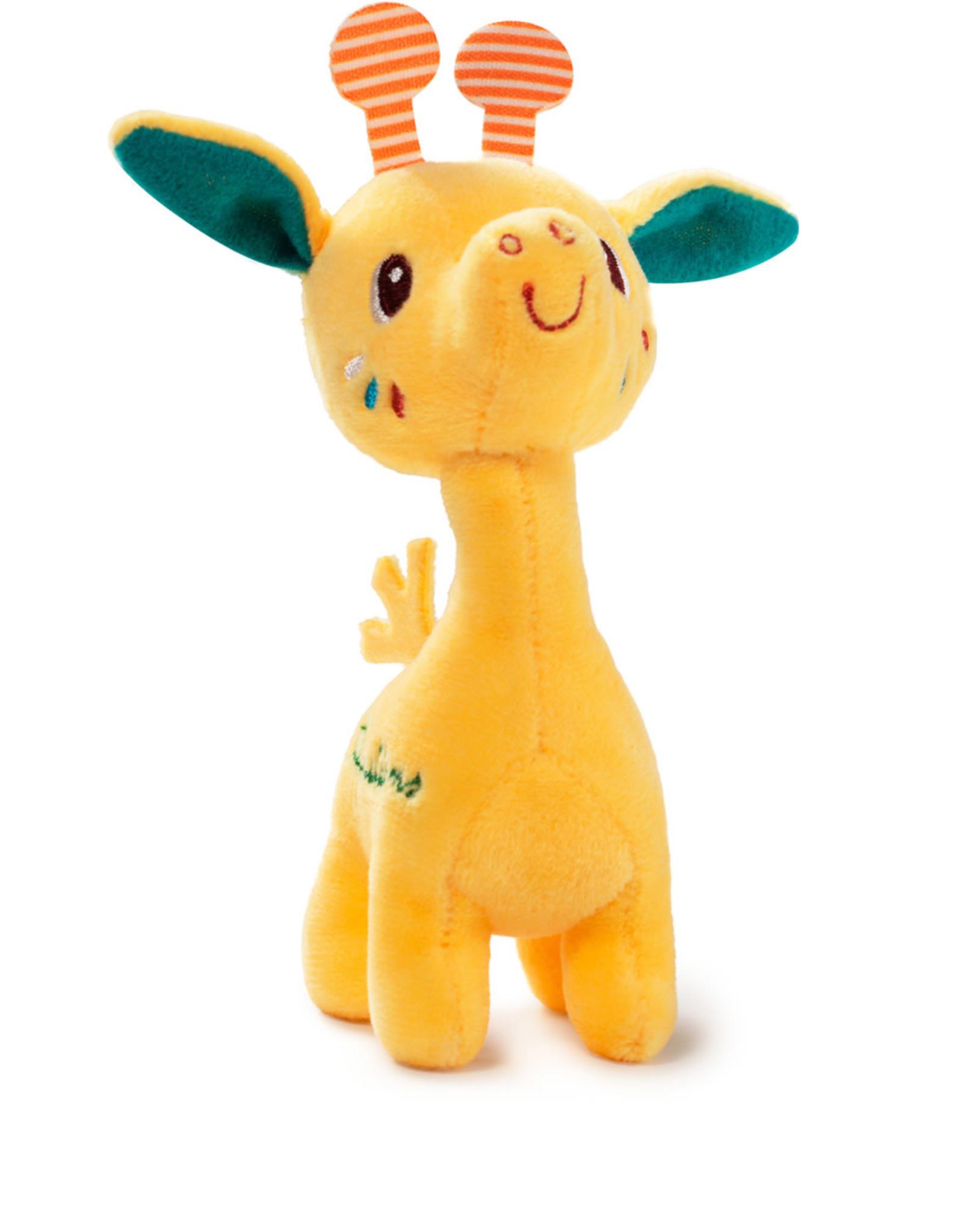 Lilliputiens Lilliputiens mini knuffeltje giraf Zia