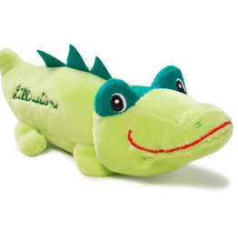 Lilliputiens Lilliputiens mini knuffeltje krokodil Anatole
