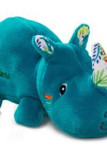 Lilliputiens Lilliputiens mini knuffeltje neushoorn Marius