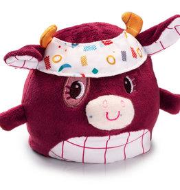 Lilliputiens Lilliputiens omkeerbare knuffel koe Rosalie