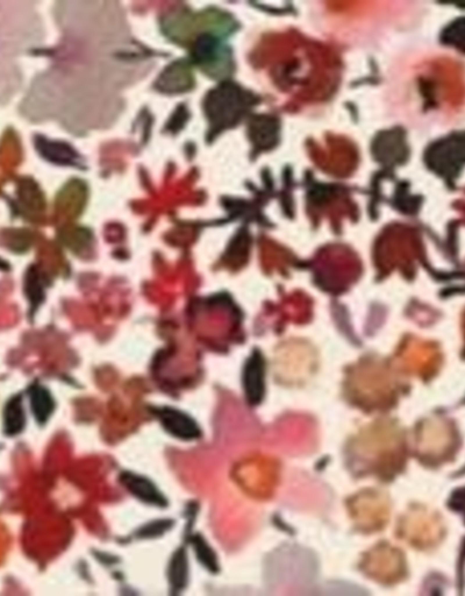 Hollie Hollie poppendraagmand retro flowers