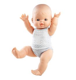 Paola Reina Pop Gordi jongen blank met ondergoed