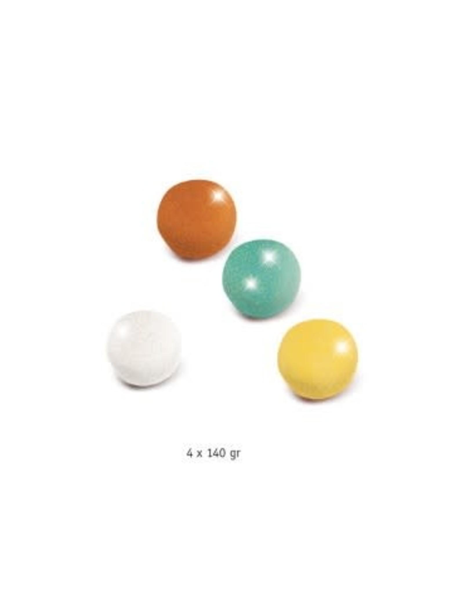 Djeco Djeco Boetseerklei met glitters (4 kleuren)