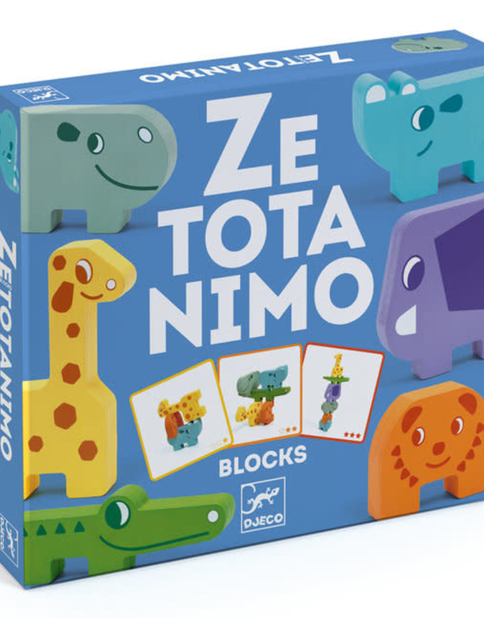 Djeco Djeco Construction Game - Ze Totanimo