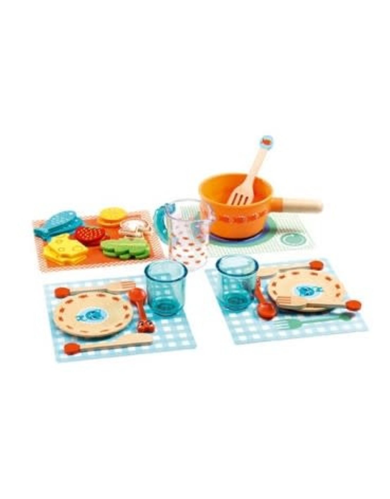 Djeco Djeco Dinnertime serviesje