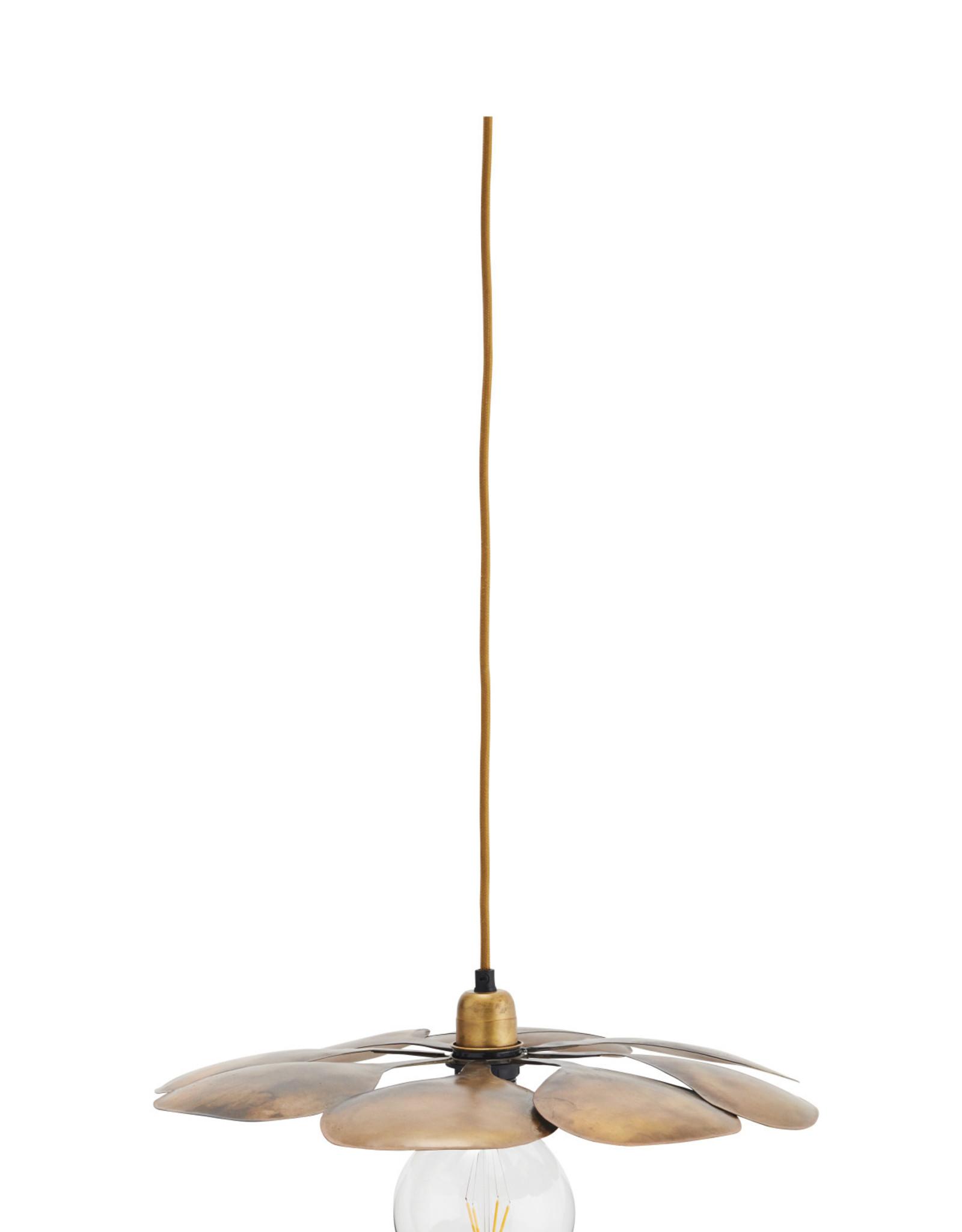 Madam Stoltz Madam Stoltz Iron Ceiling Lamp Koper