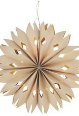 Madam Stoltz Madam Stoltz Paper star with lights D50