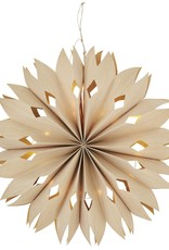Madam Stoltz Madam stoltz paper star with lights D30
