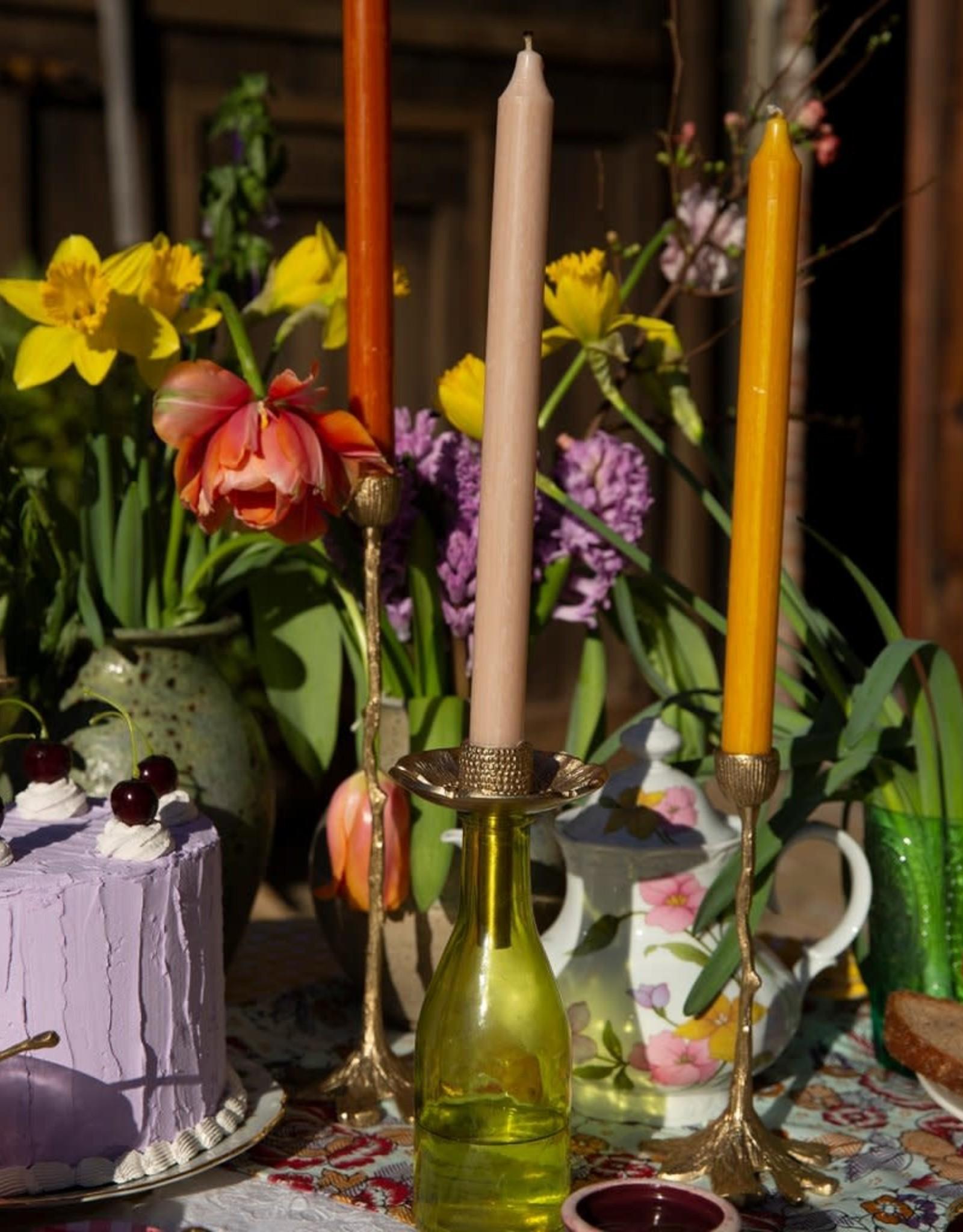 Doing Goods Doing Goods Mia Poppy Bottle Candle Holder