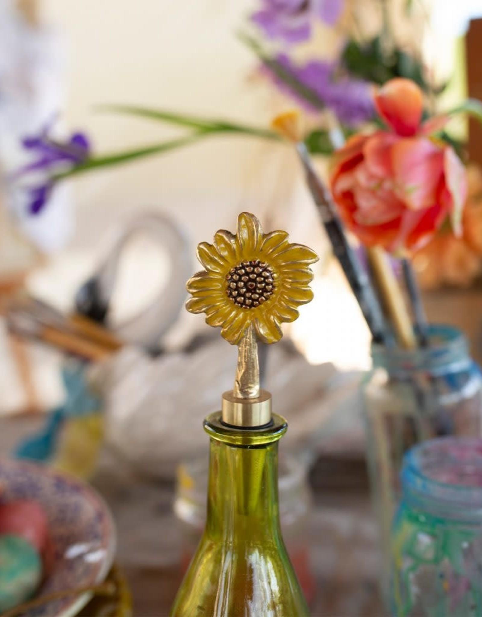 Doing Goods Doing Goods Sunny Sunflower Bottle Stopper