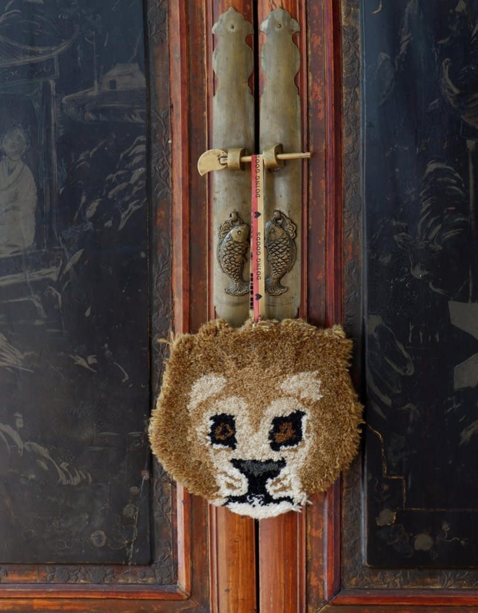 Doing Goods Doing Goods Moody Lion hanger