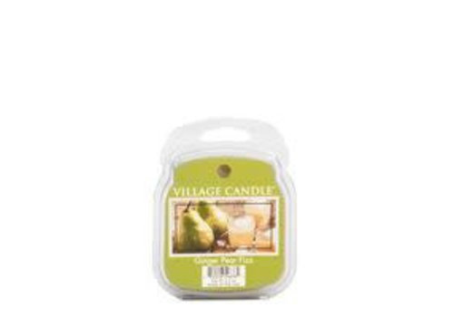 VILLAGE CANDLE WAX MELT - GINGER PEAR FIZZ