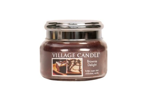 VILLAGE CANDLE SMALL CANDLE - BROWNIE DELIGHT
