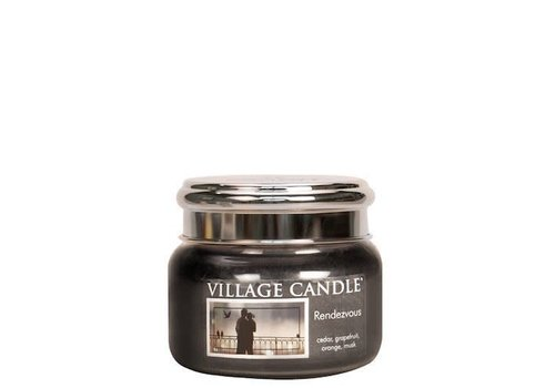 VILLAGE CANDLE SMALL CANDLE - RENDEZVOUS