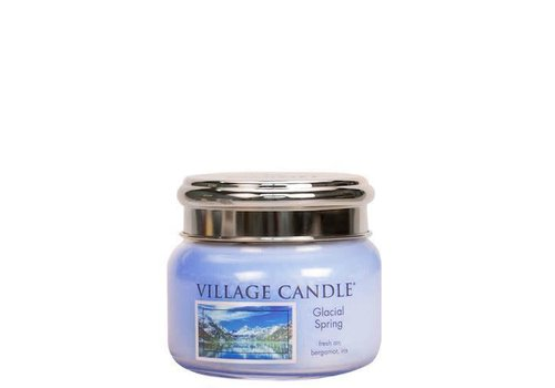 VILLAGE CANDLE SMALL CANDLE - GLACIAL SPRING