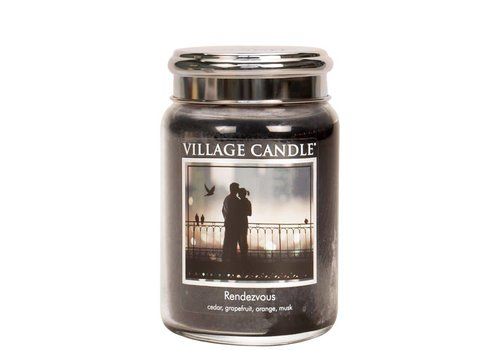 VILLAGE CANDLE LARGE CANDLE - RENDEZVOUS