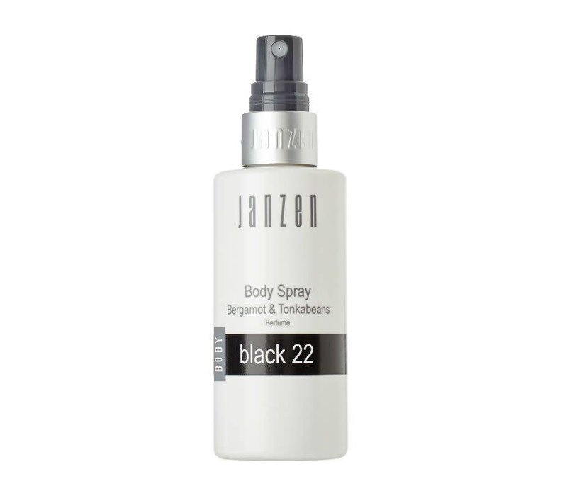 JANZEN BODY SPRAY BLACK 22