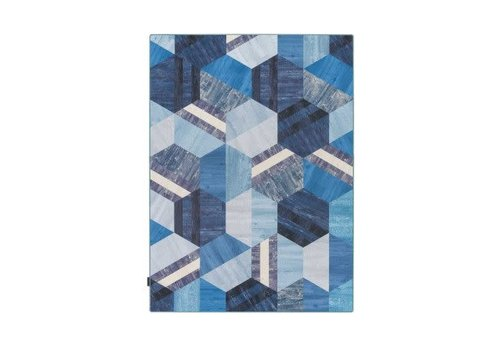 TARKETT TARKETT - HEXAGON BLAUW