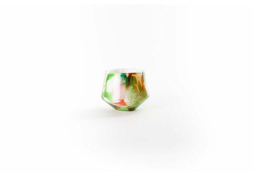 FIDRIO FIDRIO - VASE DIAMOND MINI MIXED COLOURS
