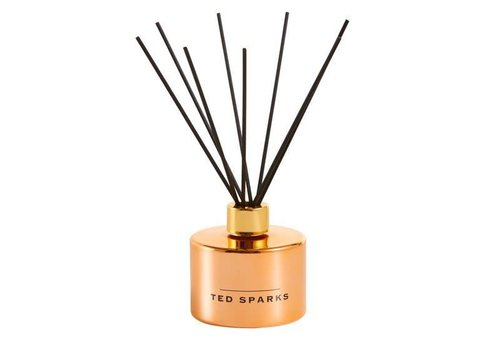 TED SPARKS DIFFUSER - METALLIC COLLECTION - ROSE GOLD - CEDARWOOD & AFRICAN FLOWERS
