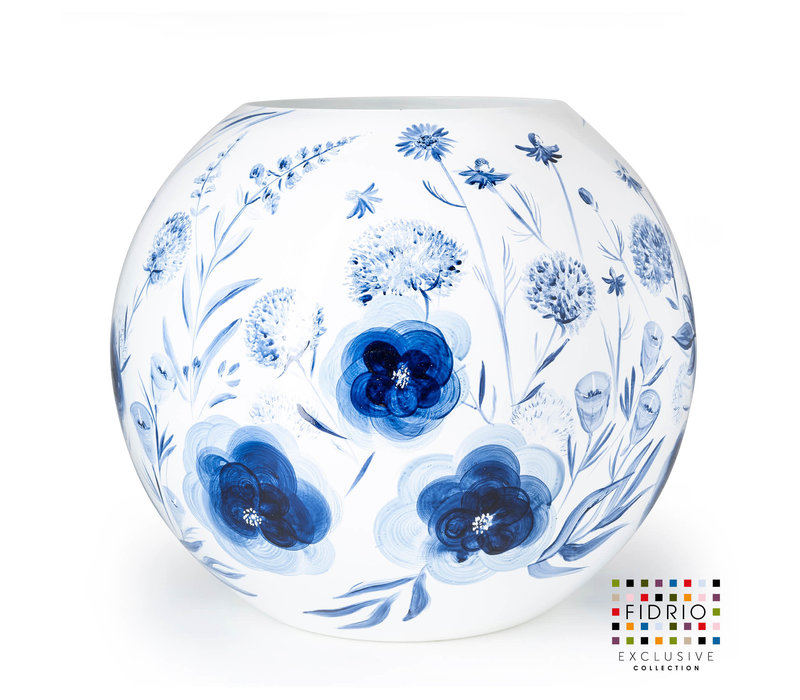 FIDRIO EXCLUSIVE COLLECTION - BOLVASE H60 HAND PAINTED