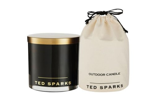 TED SPARKS TED SPARKS - OUTDOOR CANDLE BLACK