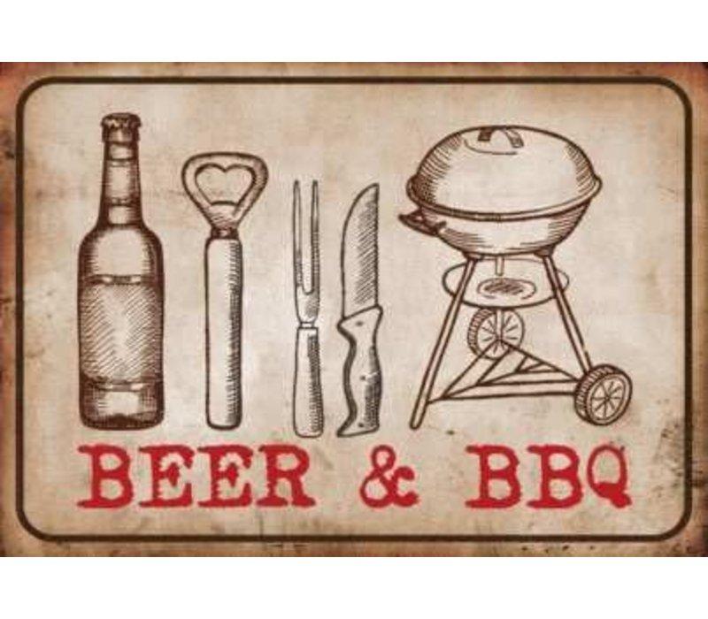 BBQ MATTEN - BEER & BBQ 50X75