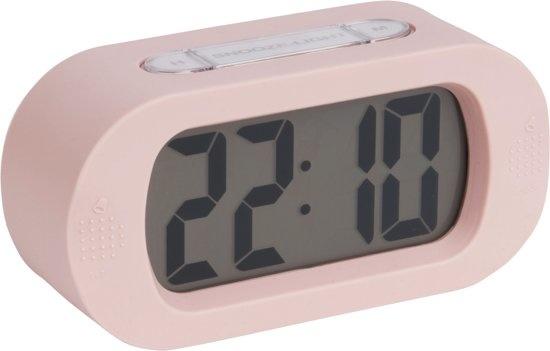 ALARM CLOCK - GUMMY LIGHT PINK