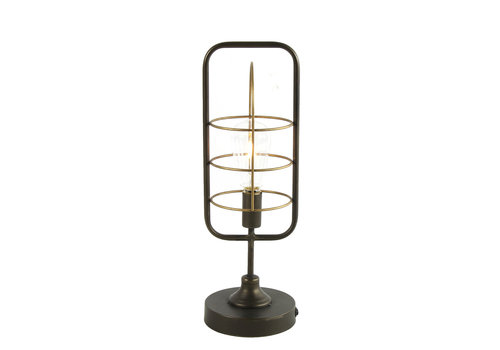 COUNTRYFIELD LAMP - LED HESSEL SMALL GRIJS